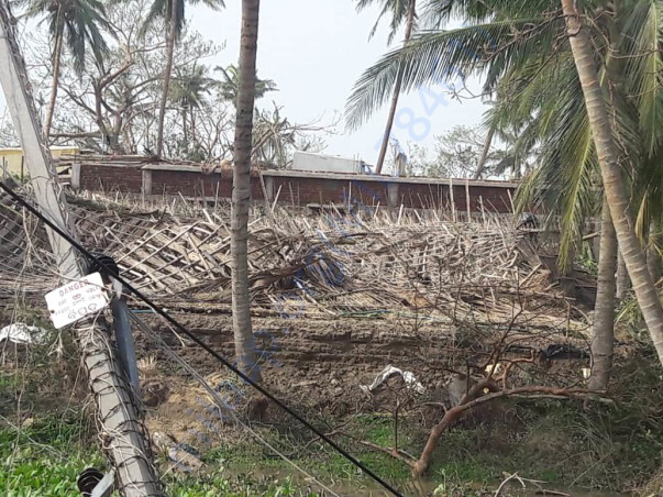 Pictures from the cyclone effected areas