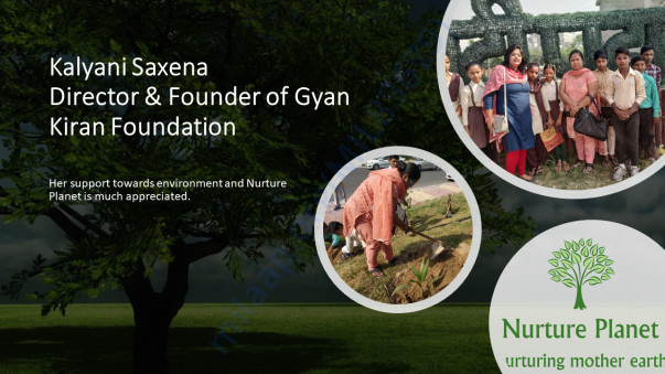 Kalyani Saxena, Founder and Director Gyan Kiran Foundation