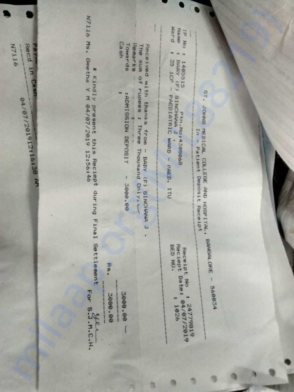 Medical bills and reports5