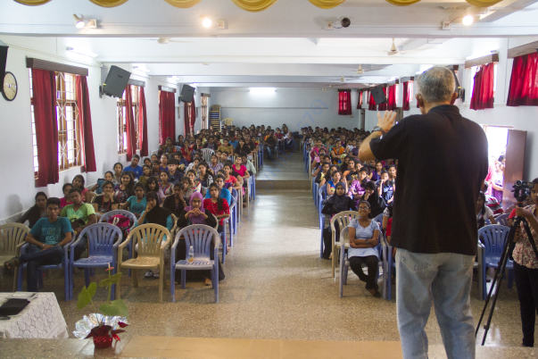 PRESENTATION AT ST.XAVIER'S COLLEGE - MAPUSA, GOA
