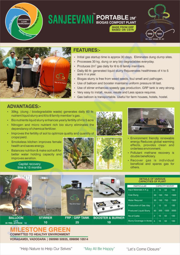 Biodigesters for school and its benefits