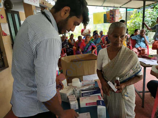 Medical aid provided at flood affected Ernaculam district in Kerala