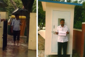 How Diksha School raised funds to buy a security guard cabin