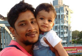 Father of one-year-old seeks help to undergo a liver transplant so he could stay alive for his son