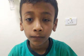 Help this miracle child hear for the first time