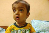 11-month-old Shivansh is deteriorating every day - only a liver transplant can save him