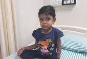 4-year-old Bavisri Has Accepted Life With Cancer, Without Knowing It Can Kill Her