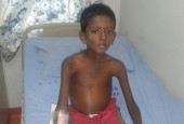Bhanu's Parents Cannot Even Afford Bus Fee To Take Him To The Hospital For Treating Liver Failure