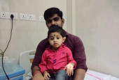 Baby Sreenandh Is Spending His Third Birthday In The Hospital After Being Diagnosed With Cancer