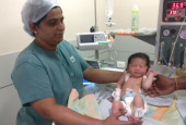 Farmer's Newborn Baby may Lose His life if He Does Not Undergo an Open Heart Surgery