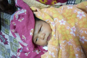 Even Before Her Parents Could Properly Cradle Her, 1-Month-Old Sunita's Baby Was Taken To The ICU