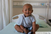 Help 2-Year-Old Shreyans Fight The Large Cancerous Tumor In His Liver