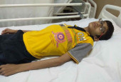 Help The Son Of A Coconut Seller Get An Urgent Surgery To Remove A Tumor In His Stomach