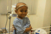 2-Year-Old Cancer Patient Doesn't Know That The Needles Into Her Body Are There To Save Her Life