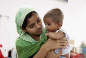 Only 4-Months-Old, Baby Imran Is Fighting A Large Cancerous Tumour In His Kidney That Can Kill Him Without Treatment
