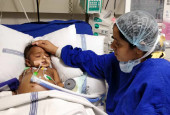8-Month-Old Baby Girl Fighting Two Types Of Blood Cancer Is Critical In The ICU And Needs Help
