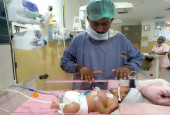 Mentally Disadvantaged Father Struggles To Save His Premature Baby On Zero Income