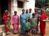 Tribal families in Mokro and Tetar Village in Gumla