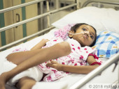 9-Year-Old Girl Who Is Paralysed And Lost Her Memory After A Terrible Fall Needs Urgent Surgery