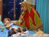 Despite Poor Health, Mother Is Determined To Save Her Baby Girl Who Will Not Survive Without Ventilator Support