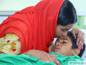 Unable To Afford 8-Year-Old Son's Life-saving Transplant, This Mother Can Only Pray To God To Save His Life