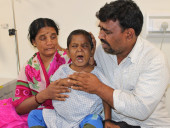 This Boy Screams In Pain Because Of His Swollen Stomach, Needs An Urgent Liver Transplant To Survive