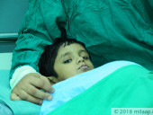 3-Year-Old Is Starving Because His Enlarged Liver Is Pushing Against His Stomach, Needs Urgent Transplant