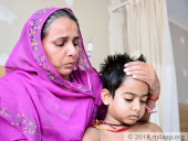 Helpless Widowed Mother Is Struggling To Save 8-Year-Old From Blood Cancer
