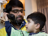 3-Year-Old Plays With Phone But Has Never Heard It Ring, He Will Be Deaf Forever Without Surgery