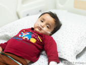 Parents Force Feed Their Baby Every 3 Hours To Keep Him Alive Until They Can Afford His Liver Transplant