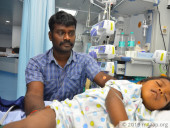Few Hours Left And Not Even A Rupee In His Pocket, This Driver Pleads For Help To Save His Baby's Life