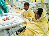 Couple Who Struggled To Conceive For 6 Years Are Now Fighting To Save Their Premature-born Twins