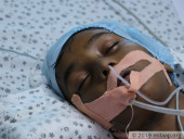 His Father Came To The Hospital Drunk, While His Mother Struggles To Save His Life Alone