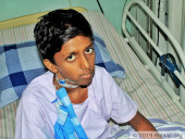 15-Year-Old With A Deformity Due To Blood Disease Is Fighting For His Life