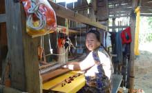Veijalam weaving.