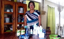 Rothuami's Amway products.