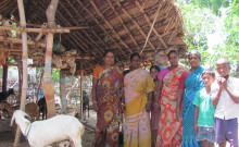(From left) Muthulakshmi, Rahesjwari R, Shakunthala and Rajeshwari S