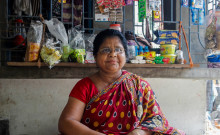 Raosanara in her shop