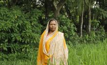 Rehena in her field