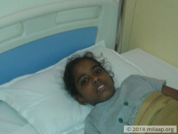 Help 10-year-old Ishika fight cancer for the second time
