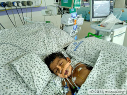 Shoaib Is Suffering From Severe Seizures In The ICU And Needs Help