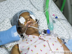 Help 15-year-old Loka who is in a very critical condition