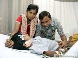 6-year-old Dhanush is suffering from a life-threatening condition