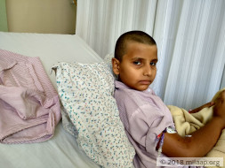 This 9-year-old Is Bedridden And Terrified That Cancer Will Kill Him
