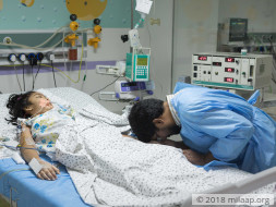 This Little Girl Is In A Coma, Fighting For Her Life In The ICU