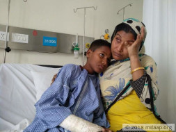 Abandoned By Her Husband When Pregnant, Is Struggling To Save Her Son