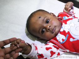 This 6-Month-Old Baby's Oxygen Levels Are Dipping Dangerously Low