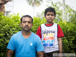 7-year-old cannot even eat because of cancer