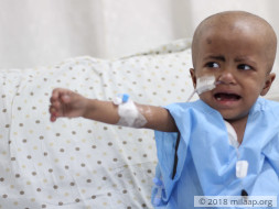 Save 2-Year-Old Who Is Too Weak To Walk Due To Cancer