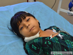 7-year-old Shaik is suffering from a rare life threatening disease